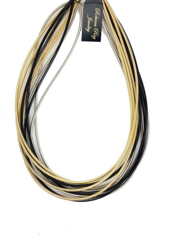 02530 Tri Tone Necklace