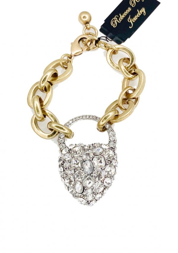 02601 Heart Bracelet