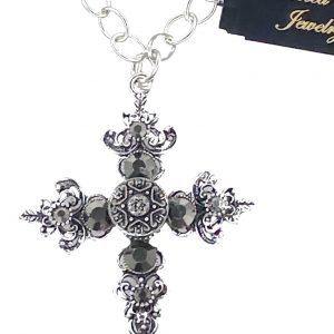 02630 Vintage Cross Necklace