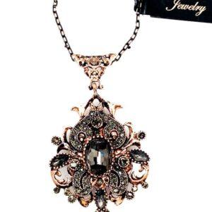 03116 Antique Gold Necklace