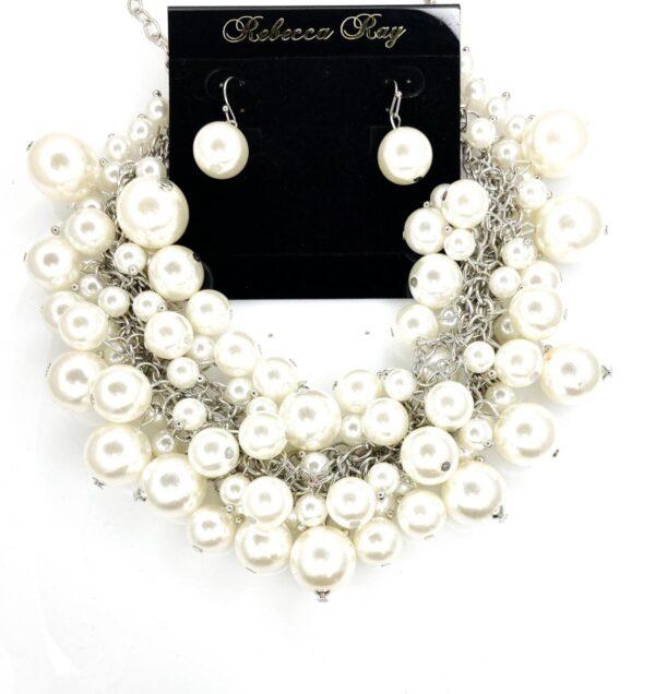 02585 White Pearl Set