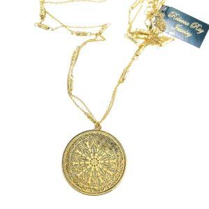 02859 Gold Drop Necklace