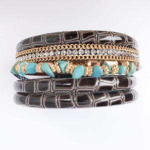 02734 Leather Bracelet