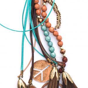 02684 Multi Strand Necklace