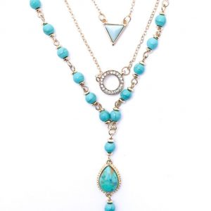 02655 Layer Tassel Necklace