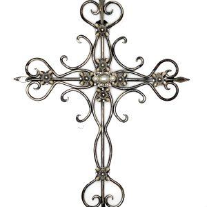 RRHO-10003 Jeweled Hanging Cross