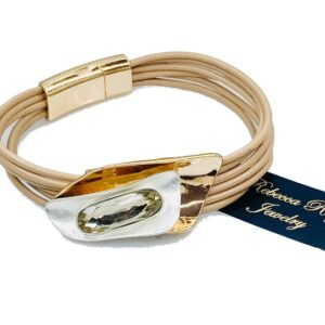 03134 Magnet Clasp Bracelet