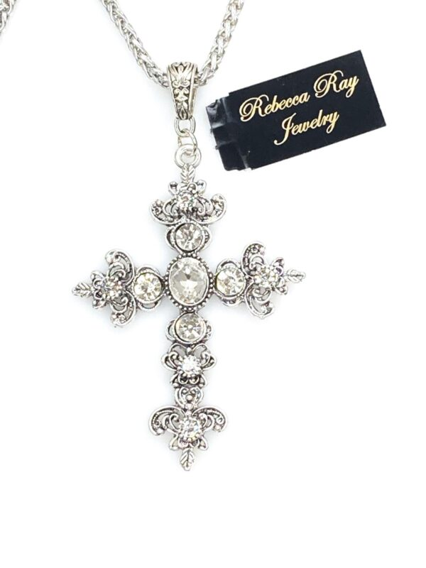 03101 Crystal Cross Necklace