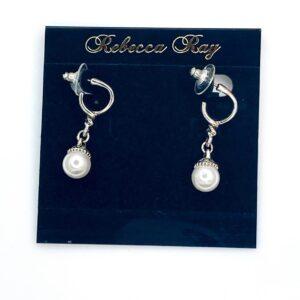 03103 Pearl drop Earring